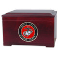 Wooden Military Memory Chest