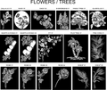 Flowers/Trees Artwork Choices