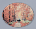 Ceramic Photo - Horizontal Oval