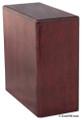 Bookshelf Budget Urn | Rosewood Finish