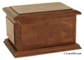 Boston II Cremation Urn - Walnut