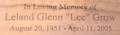 Cremation Urn Personalization