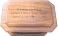 Laser Engraved Urn