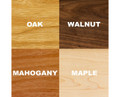 Wood Types Available: Oak, Walnut, Mahogany, Maple