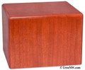 Wooden Pet Cremation Urn - Cherry