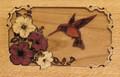 Companion Urn Scene: Hummingbird