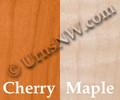 Wood Choice | Cherry | Maple