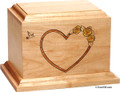 At Home In Our Hearts Child or Infant Urn
