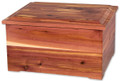 Cedar Memory Chest Keepsake Box