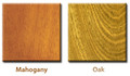 Wood Types for Cremation Urn | Mahogany and Oak