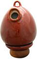 Birdhouse Urn in Red Oxide