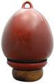 Birdhouse Urn in Red Oxide | Back