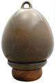 Birdhouse Urn in Granite | Back