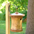 Birdhouse Scattering Urn Turned Birdsong - Mini | Display