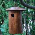 Birdhouse Scattering Urn Natural Birdsong | Display