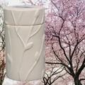 Flowering Cherry Memorial Tree Urn