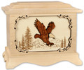 Eagle Cremation Urn in Maple