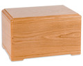 Hamilton Cremation Urn - Natural Cherry