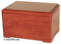 Hamilton Cremation Urn - Stained Cherry