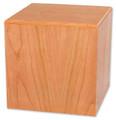 Cube Budget Urn | Oak