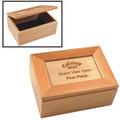 Personalized Maple Keepsake Box | Engraving Sample