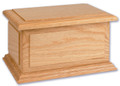 Boston II Pet Urn | Oak Wood