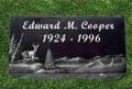 "Granite Grave Marker - ""Safe Harbor"""