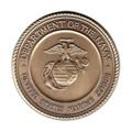 Marine Corps Military Cremation Urn Medallion