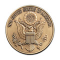 United States Great Seal Military Cremation Urn Medallion