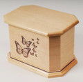 Maple Wood Cremation Urns