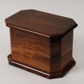 Whispers Butterfly Walnut Wood Cremation Urn