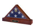 Flag Case with Optional Urn Base