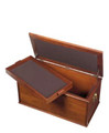 Keepsake chest with tray insert