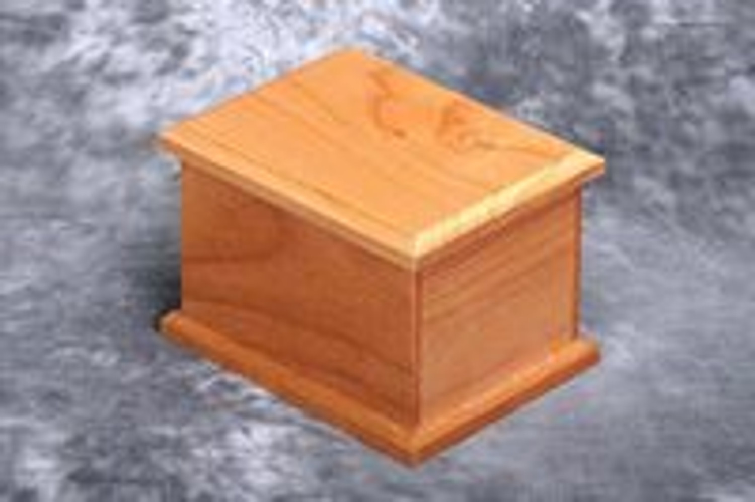 Simple, well crafted, and affordable Alder Wood Urns
