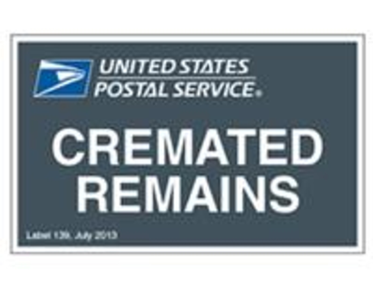 Shipping Cremated Remains via USPS