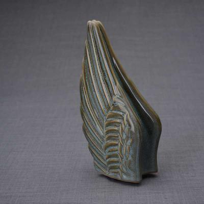 Angel Wings Sculpture Ceramic Cremation Urn