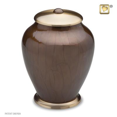 Bronze Simplicity Brass Cremation Urn