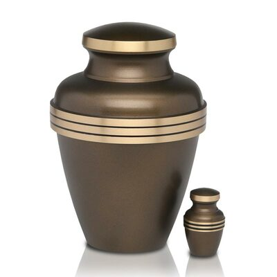 Adult Urn & Small Keepsake Urn