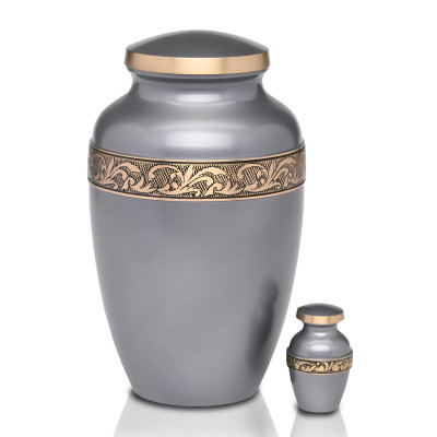 Adult Urn & Small Matching Keepsake Urn