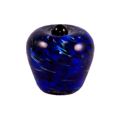 Classic Hand Blown Glass Keepsake Urn - Water
