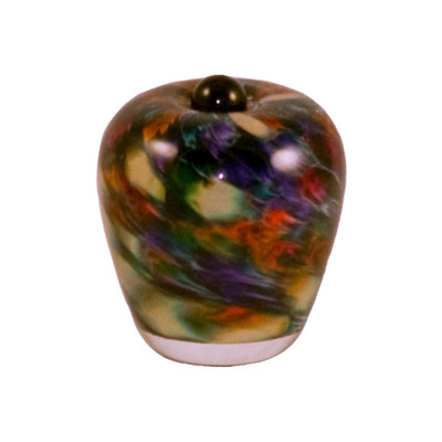 Classic Hand Blown Glass Keepsake Urn - Desert