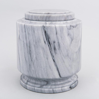 Gray Estate II Marble Urn