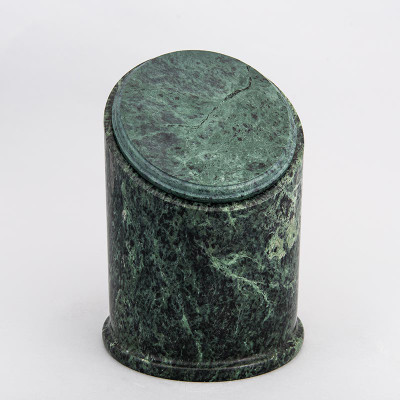 Crown Youth/Sharing Natural Marble Cremation Urn in Green