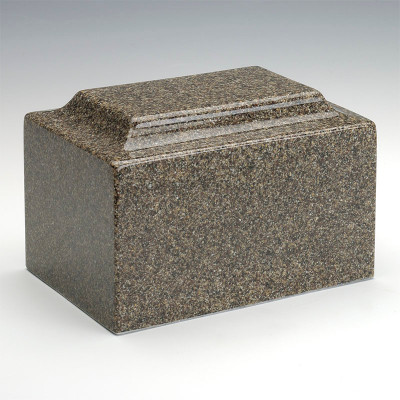 Classic Cultured Granite Urn - Kodiak Brown