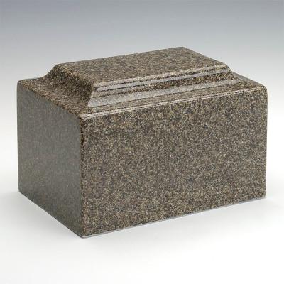 Classic Cultured Granite Urn - Kodiak Brown
