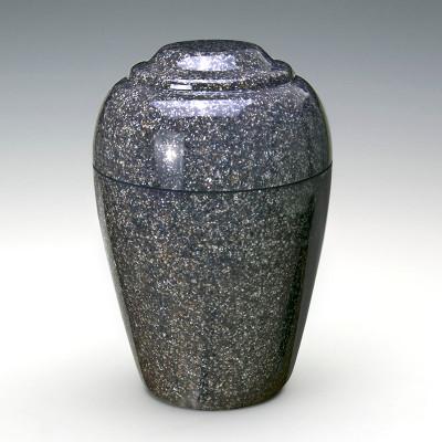 Grecian Cultured Granite Urn in Kodiak Brown