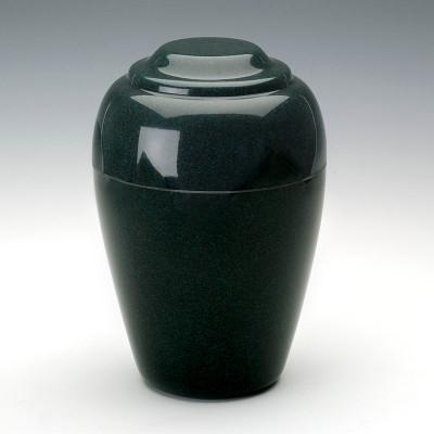 Grecian Cultured Granite Urn in Sea Holly Green