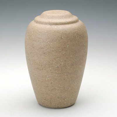 Grecian Stone-Tone Cultured Marble Urn in Catalina