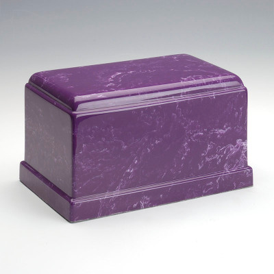 Olympus Cultured Marble Urn in Amethyst