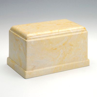 Olympus Cultured Marble Urn in Gold